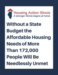 Without a State Budget the Affordable Housing Needs of More than 172,000 People Will Be Needlessly Ummet