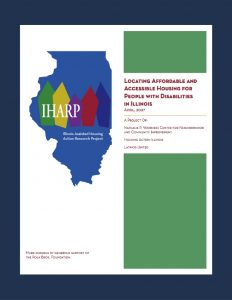 IHARP report on housing for people with disabilities in Illinois
