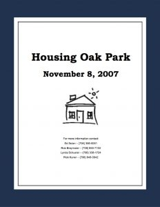 Housing Oak Park Report 2007