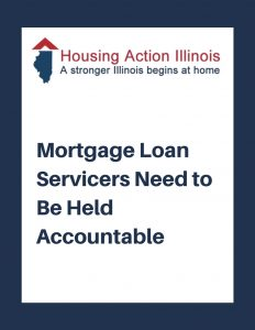 Mortgage Loan Servicers Need to Be Held Accountable
