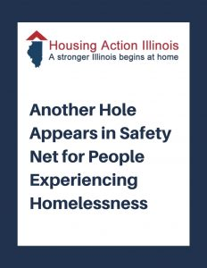 Another Hole Appears in the Safety Net for People Experiencing Homelessness
