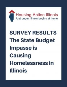 State Budget Impasse is Causing Homelessness in Illinois