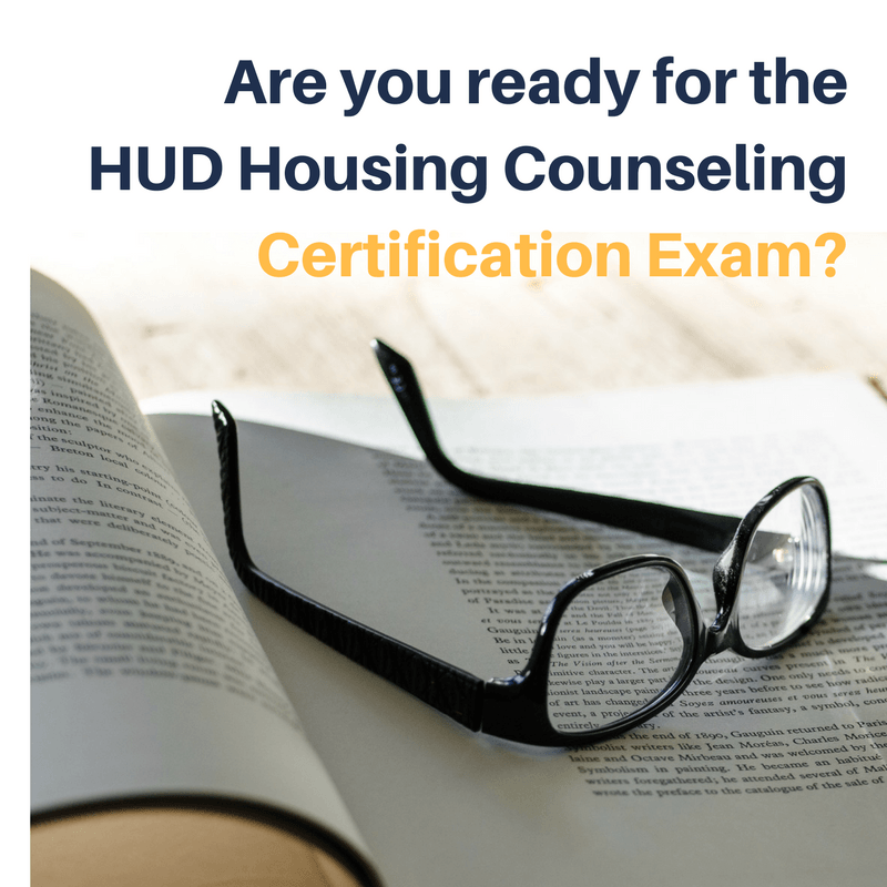 Study Group for HUD Housing Counseling Certification   Housing ...