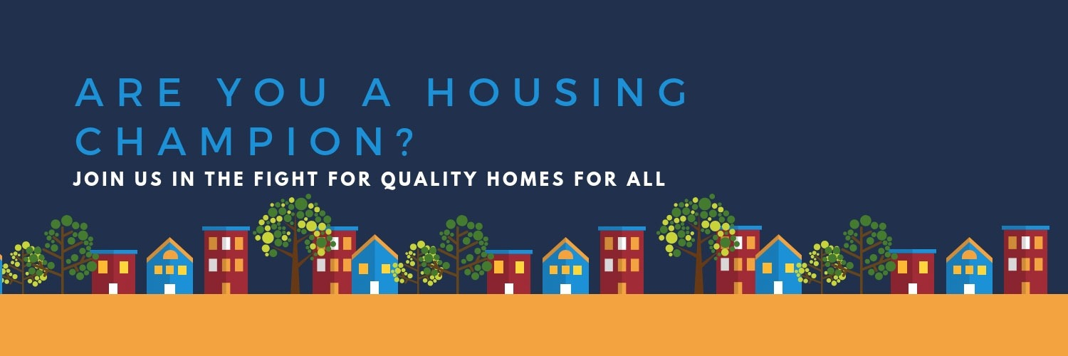 Are you a housing champion? Click to join us