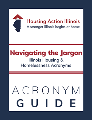 Navigating the Jargon: Illinois Housing & Homelessness Acronyms