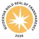 Guidestar 2020 Gold Seal of Transparency