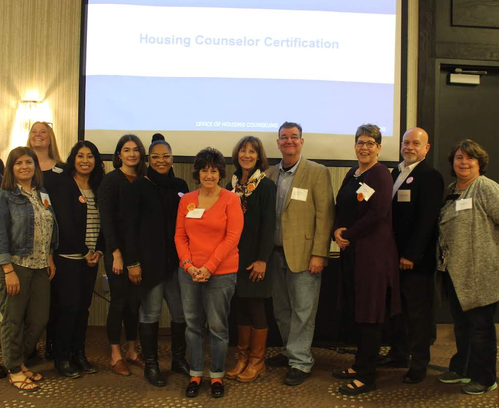 HUD-certified housing counselors at Housing Action's 2019 Housing Matters! Conference.