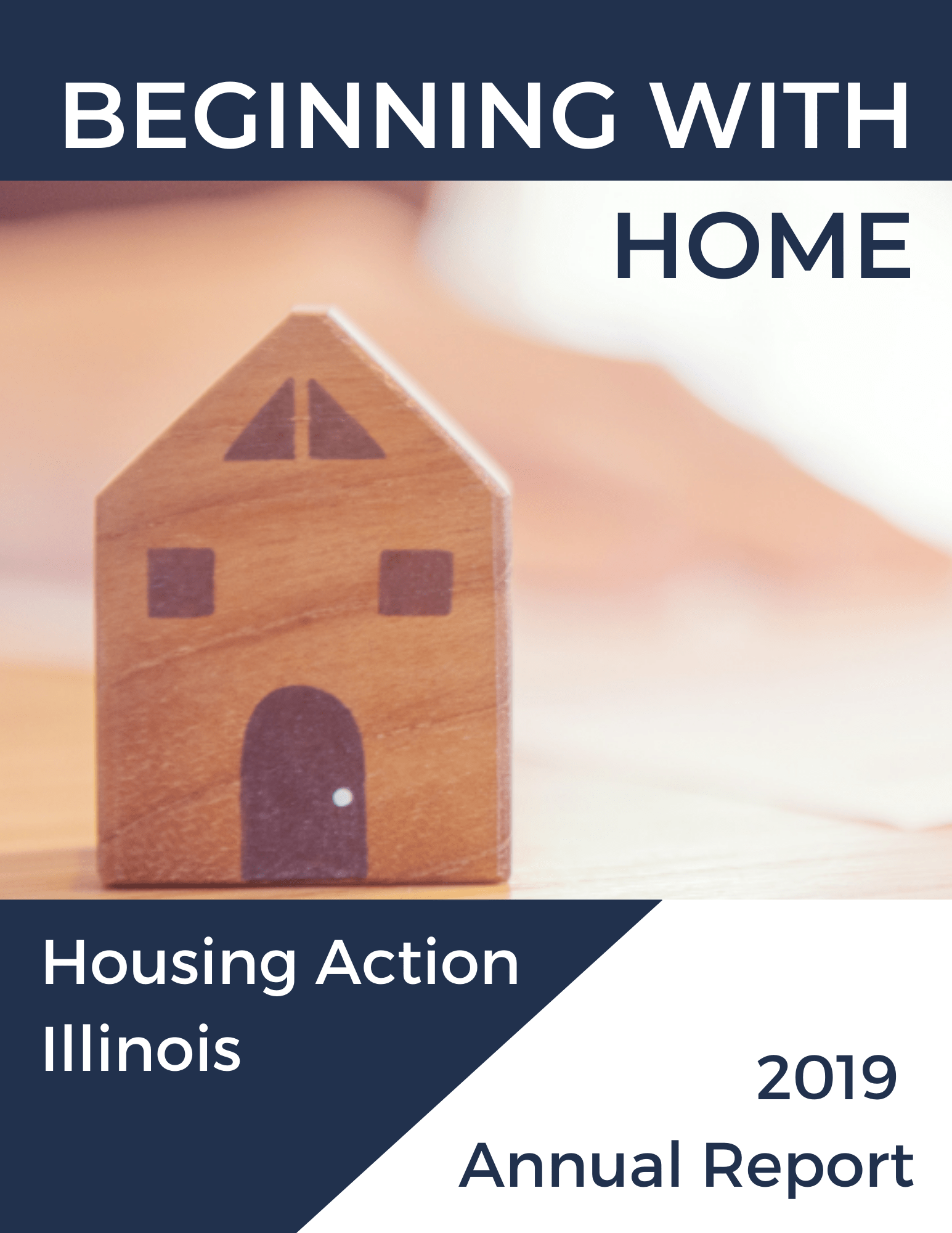 2018 Annual Report Cover: From Our Homes to Yours